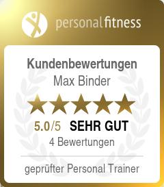 Kundenbewertung für Max Binder